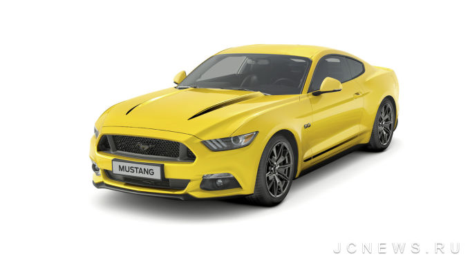 Специальные версии Ford Mustang Black Shadow и Mustang Blue Edition